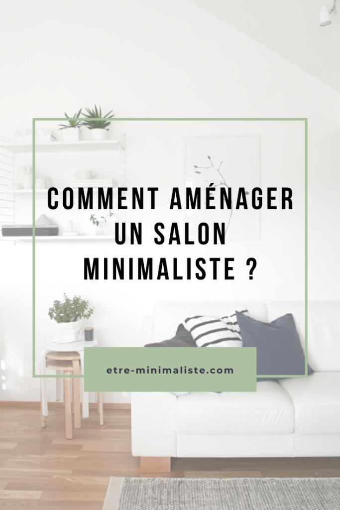 Salon Minimaliste : Comment désencombrer son salon ?   Etre-minimaliste.com