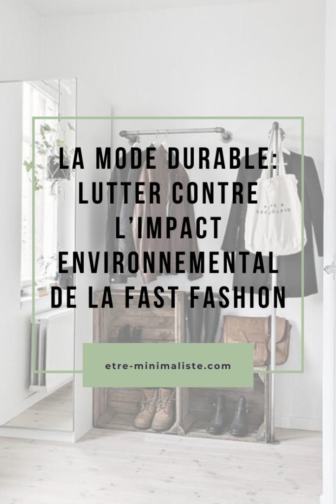 """""""La fast fashion"""" : La mode est devenue un désastre écologique pour la planète !"""