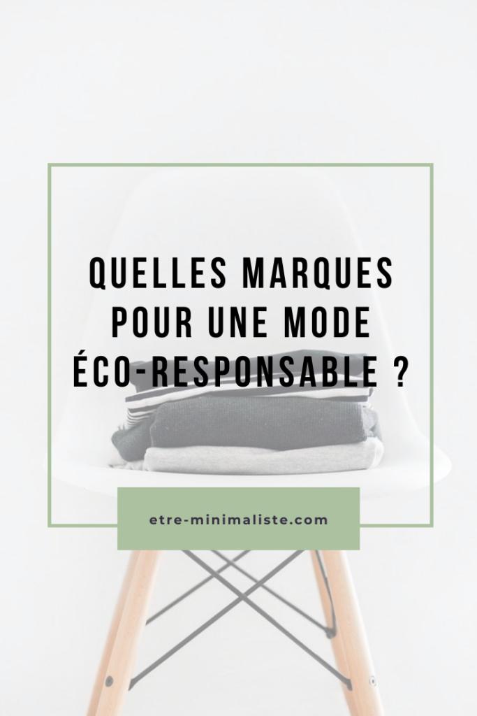 Mode éthique : Des marques éco-responsables existent | Etre-minimaliste.com