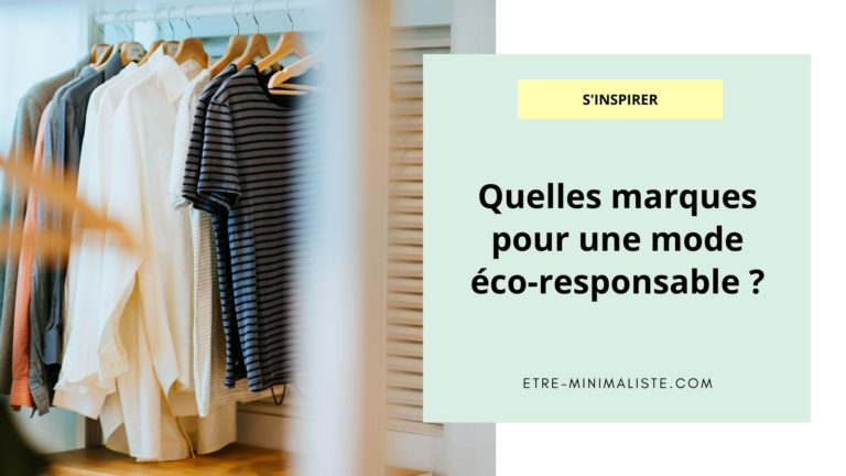 Quelles marques pour une mode éco-responsable
